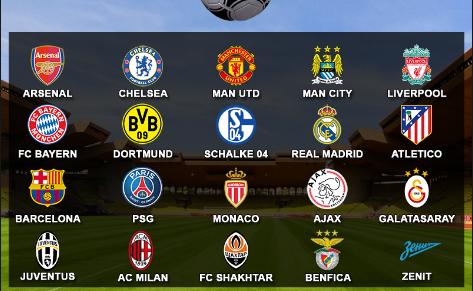 5 CLB bóng đá nổi tiếng thế giới